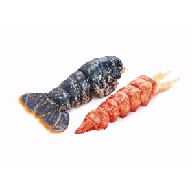 2 Raw Lobster Tails, Shelled Rougie (6oz for 2 tails)