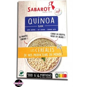 White quinoa by Sabarot (500g/17.6 oz)