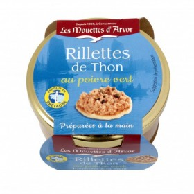 Mouettes d'Arvor Tuna rillettes with green peppercorn 125g (4.4 oz)