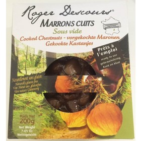 Cooked chestnuts vacuum packed Roger Descours 200g (7.05 oz)