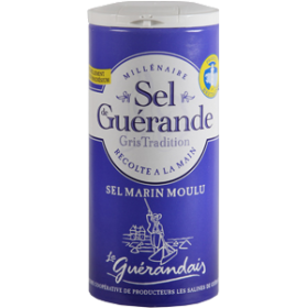 Guerande Table Salt 100% - Sel (4.4oz/125g)