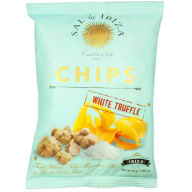 Sal de Ibiza chips with White Truffle
