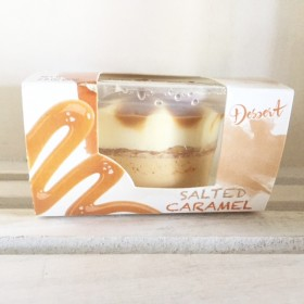 Individual Salted Caramel Dessert Cup made in Italy