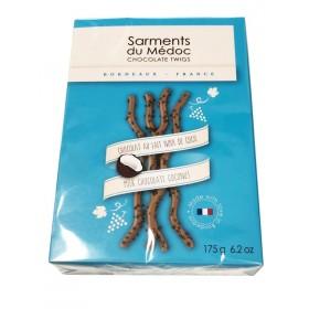 Révillon Sarments du Médoc / dark Chocolate with Coconuts flavor (6.2oz/175g)