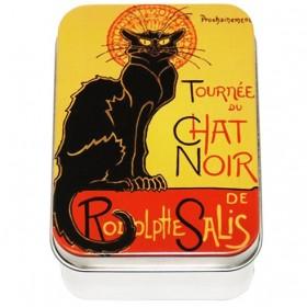 Rose Soap by LeBlanc in a vintage tin Chat Noir 3.5oz-100g