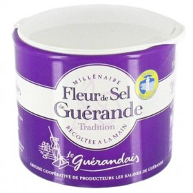 Guerande 'Fleur De Sel' Sea Salt 100% 4.4 oz (125g)