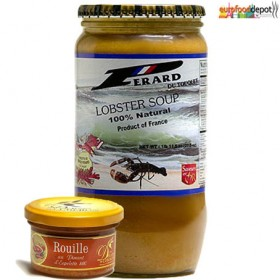Duo Rouille + Lobster Soup 100% Natural (850ml-29 fl oz)