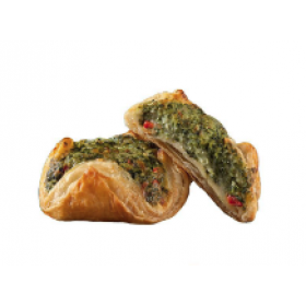 Spinach and Ricotta Pastries 40 units of 3.85oz