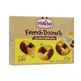 St Michel Doonuts Chocolate Marble Cakes