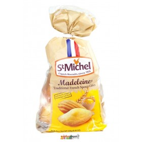 St Michel French Madeleines - individually wrapped (8.81oz/250g)