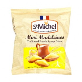 St Michel French Mini Madeleine - Traditional French cakes (6.17oz/175g)
