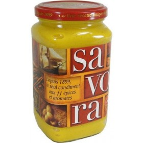 Savora Mustard With 11 Spices (395g)