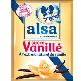 Alsa Vanilla sugar - Sucre vanille (12 x 7.5g)