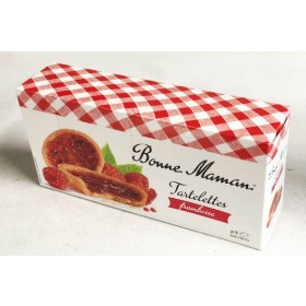 French Raspberry Tarts by Bonne Maman (4.76 oz/135g)