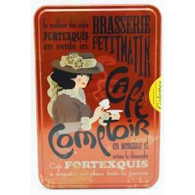 "Cookie Tin Box ""Cafe Comptoir"""