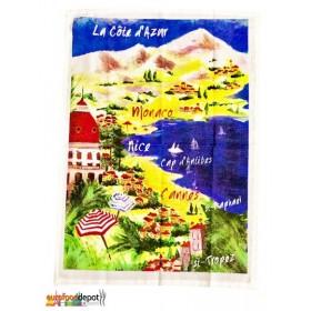 2 Tea Towel  La Cote d'Azur  by Torchons & Bouchons