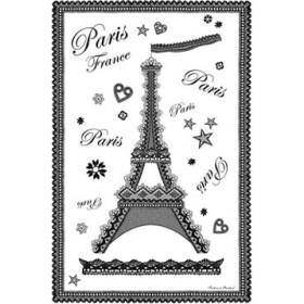 Tea Towel Eiffel Dentelle by Torchons & Bouchons