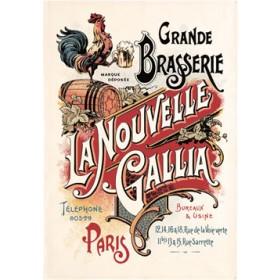 Tea Towel Biere Gallia by Torchons & Bouchons
