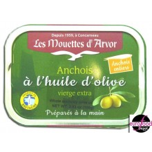 Whole anchovy in olive oil - Mouettes D'Arvor (100g/3.53oz)