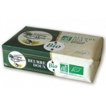 French ISIGNY organic Butter (doux-no salt)