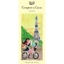 "Comptoir du Cacao - ""Tour Eiffel"" chocolate bar - (2.82oz/80g)"
