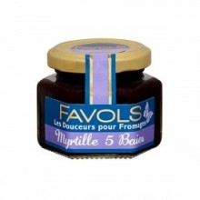 Blueberry with 5 peppercorns mix Spread for cow milk Cheeses - Favols (3.88oz/110g)