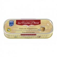 Filets of Mackerel in a Creamy Mustard Sauce (6 oz/169g) By Mouettes d'Arvor