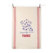 Culinary Specialties Tea Towel 100% Cotton by Tissage de l'Ouest