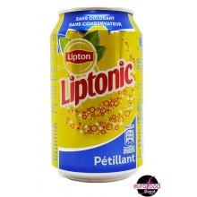 Liptonic, sparkling iced tea 33cl