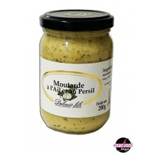 Mustard w/ garlic and parsley by Delouis