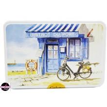 "Cookie Tin Box ""Bistrot du Port"""