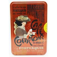 """Cookie Tin Box """"Cafe Comptoir"""""""