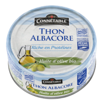 Albacore tuna in organic EVOO Connectable