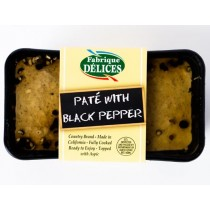 Country Pate With Black Pepper Fabrique Delices - All natural
