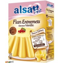 Alsa French Flan Onctueux Saveur Vanille