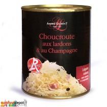 Sauerkraut / Choucroute with Lards & Champagne (810g-29oz)