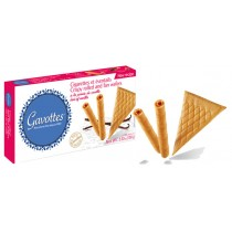 Crispy rolled and fan wafers by Gavottes · 100g (3.5 oz)