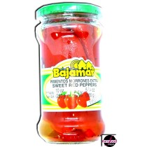 Bajamar pimientos morrones extra sweet red peppers (280g/10oz)