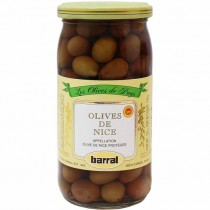 French Nicoise Olives de Nice - Barral (6oz/170gg)