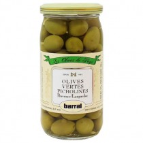 French Green olives Picholines - Barra (6oz/170gg)