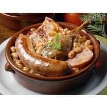 Cassoulet with duck confit Rougie (2lbs/908g net)