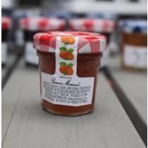 2 Bonne Maman Apricot Preserves - Mini Jar Jam (1oz/28g X2)