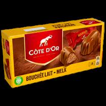 Cote d'Or bouchée chocolat au lait (8 pieces per box)