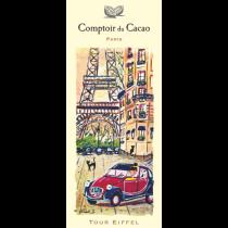 "Comptoir du Cacao - ""Tour Eiffel 2CV"" chocolate bar - (2.82oz/80g)"