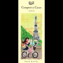 "Comptoir du Cacao - ""Tour Eiffel"" chocolate bar - (2.82oz/80g)"
