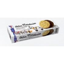 Fine Mandarin Biscuit with dark chocolate  (4.58oz/130g) Filet Bleu