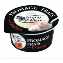 Isigny strawberry yogurt from France