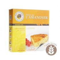Gluten Free - Lemon and hazelnut gourmet cake (8.47oz/240g)