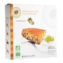 Gluten Free - Almond and hazelnut gourmet cake Organic