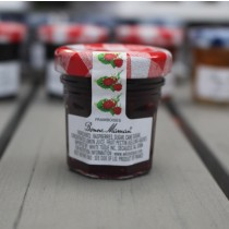 2 Bonne Maman Raspberry Preserves - Mini Jar Jam (1oz/28gX2)